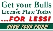 USF Bulls License Plate