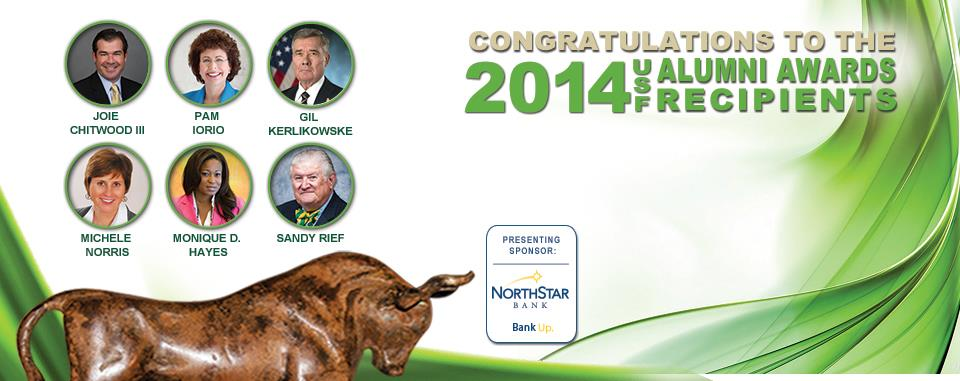 Meet the 2014 USF Alumni Award Recipients