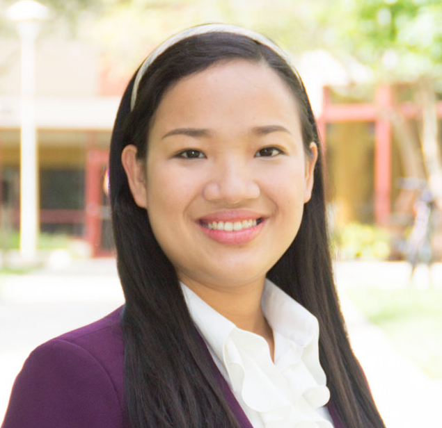 portrait of Trang Luong, outstanding USF graduate