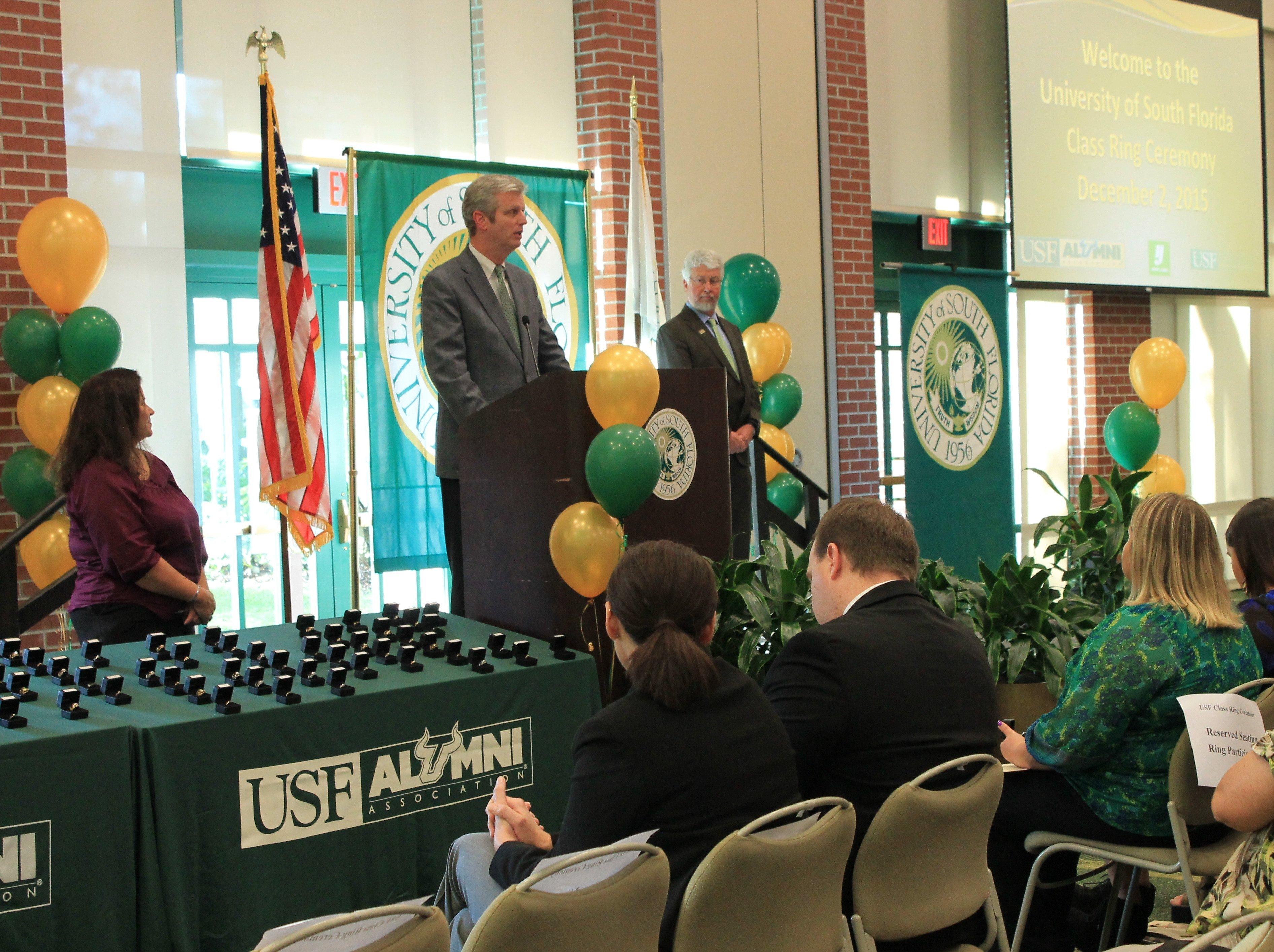 USF Alumni - Class Ring & Ceremony