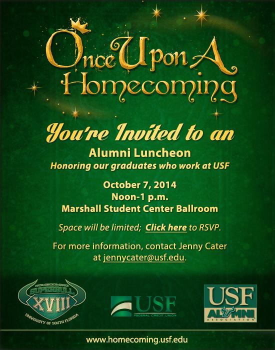 USF Alumni Alumni Luncheon