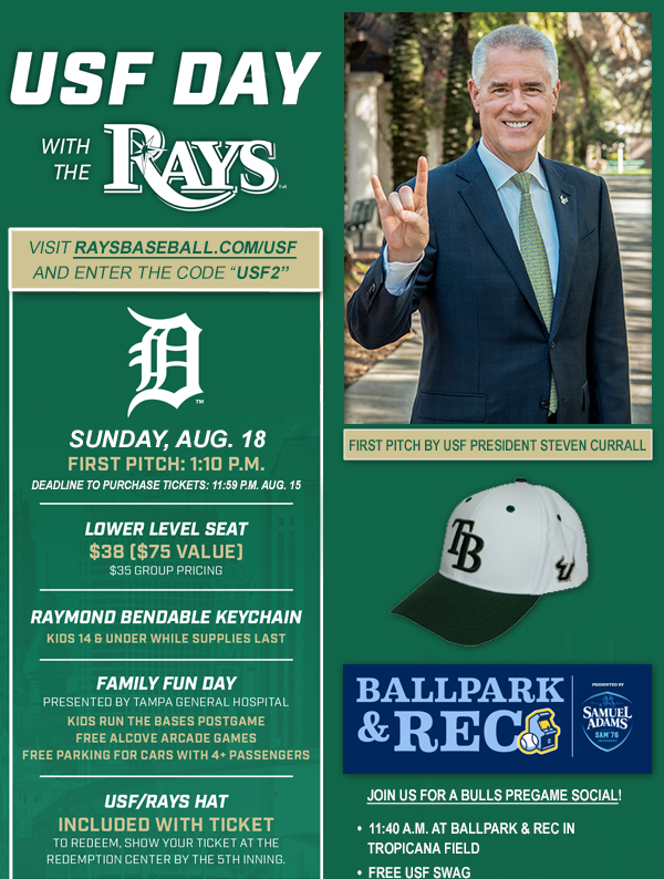 USF Alumni - USF Day with the Rays 2019